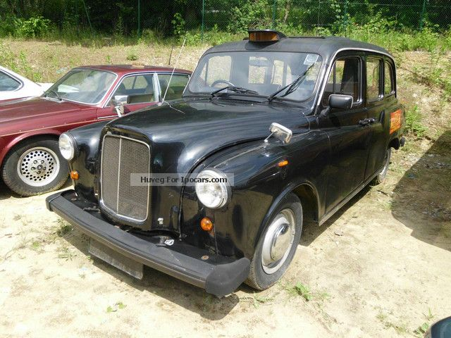 Austin  London taxi diesel dt.Brief Oldtimer 1979 Vintage, Classic and Old Cars photo