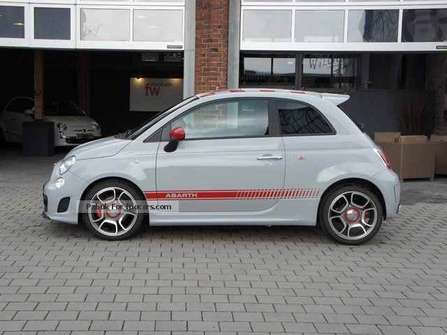 2012 Abarth  500 German vehicle with XENON Sports Car/Coupe Pre-Registration photo