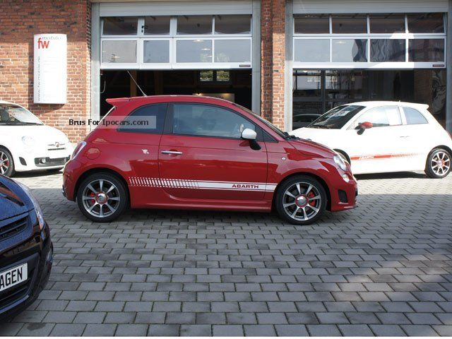 2012 Abarth  500 German cars with Xenon Sports Car/Coupe New vehicle photo
