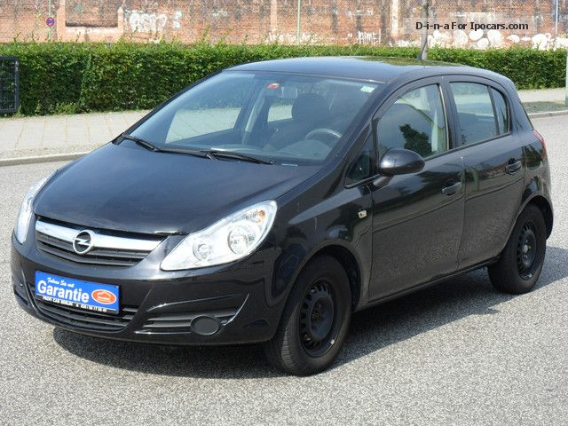 2012 opel corsa 1 0 12v edition car photo and specs. Black Bedroom Furniture Sets. Home Design Ideas