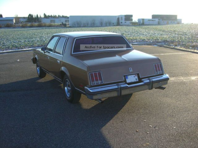 1981 oldsmobile cutlass supreme brougham 5 0 v8 h approval car photo and specs