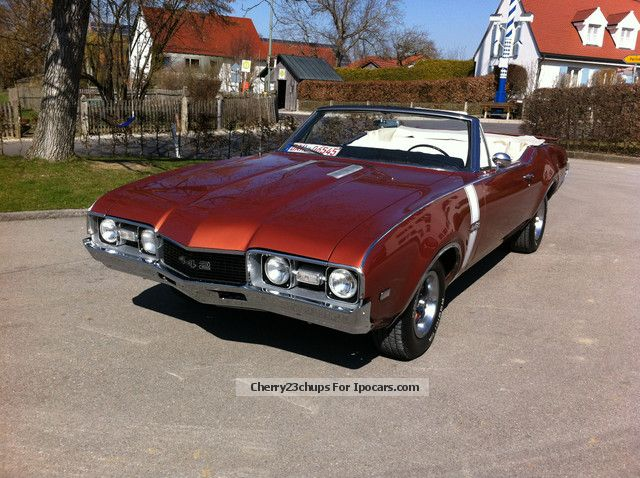 Oldsmobile  Convertible 442 with H-approval 1968 Vintage, Classic and Old Cars photo