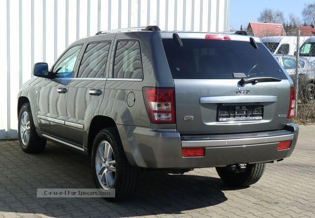 2009 jeep grand cherokee 3 0 crd overland dpf car photo and specs. Black Bedroom Furniture Sets. Home Design Ideas