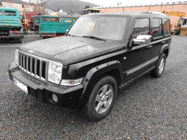 2010 jeep commander 3 0 crd limited auto car photo and specs. Black Bedroom Furniture Sets. Home Design Ideas