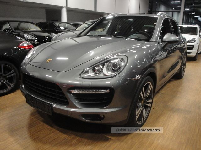 2012 Porsche  CAYENNE TURBO * PANORAMA * RAIL * CAMERA * 21TURBO * LE Off-road Vehicle/Pickup Truck Used vehicle photo