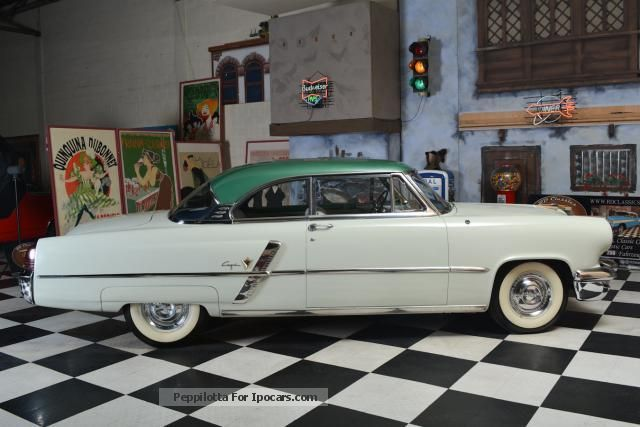 1953 Lincoln Capri 2 Doors Hardtop Car Photo And Specs