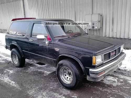 1982 GMC  Jimmy V6 Off-road Vehicle/Pickup Truck Used vehicle photo