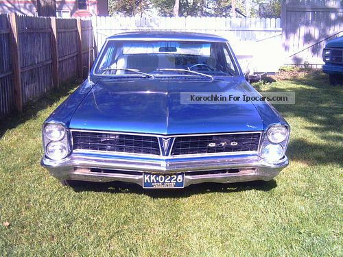 Pontiac  GTO (Clone) 1965 Vintage, Classic and Old Cars photo