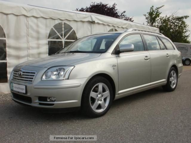 2005 toyota avensis 2 2 d cat combi sol car photo and specs. Black Bedroom Furniture Sets. Home Design Ideas