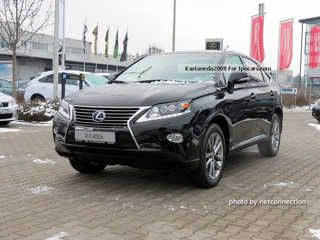 Lexus  RX 450h Luxury Line PDC KEYLESS NAVI LIGHT CURVE 2012 Hybrid Cars photo