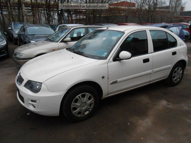 2006 Rover  25 1.6 Inspection (TÜV) 02/13 Euro3Norm climate 1.Hand Saloon Used vehicle photo
