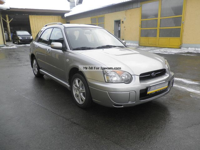 subaru impreza wagon wheel air car photo  specs