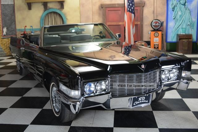 2012 Cadillac  Deville Convertible Cabriolet / Roadster Classic Vehicle photo