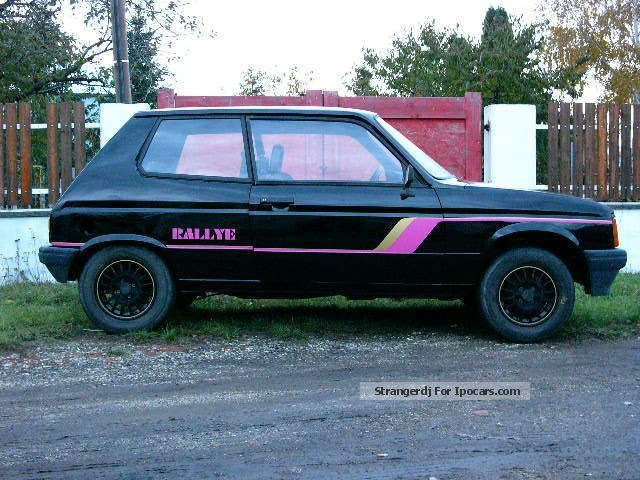Talbot  Samba Rallye 1984 Race Cars photo