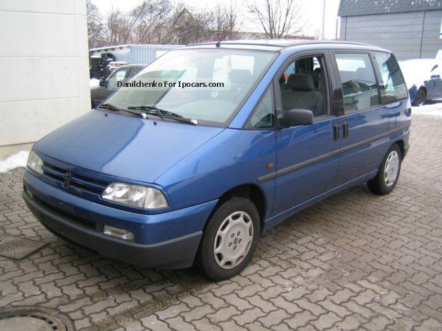 1996 Peugeot  1996 806 2.0 petrol engine failure Van / Minibus Used vehicle photo