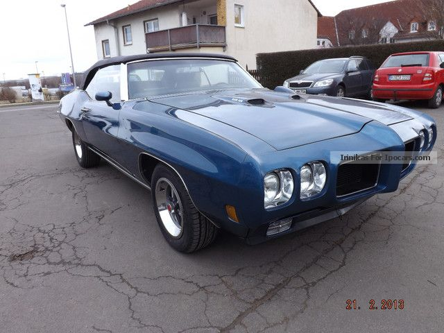 Pontiac  GTO Convertible 400 RAM AIR 1970 Vintage, Classic and Old Cars photo