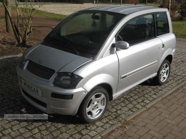 2008 Microcar  MC City moped car 45km / h light motor vehicle Other Used vehicle photo