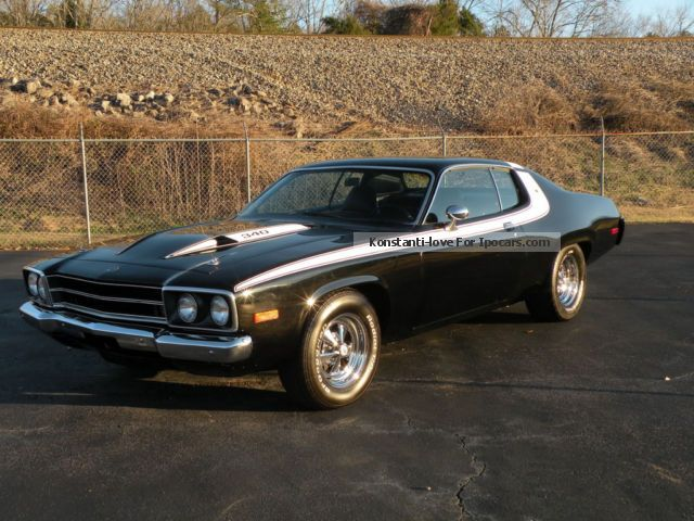 Plymouth  Road Runner, 340cui V8, Top Muscle Car! 1973 Vintage, Classic and Old Cars photo