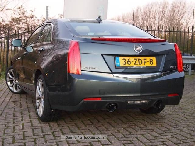 2013 Cadillac Ats 2.0 L Turbo >> 2012 Cadillac OTHER DE NIEUWE ATS 2.0 T - Car Photo and Specs