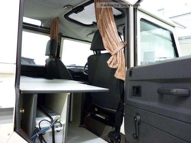 1990 land rover defender 110 county long so kfz wohnmobil. Black Bedroom Furniture Sets. Home Design Ideas