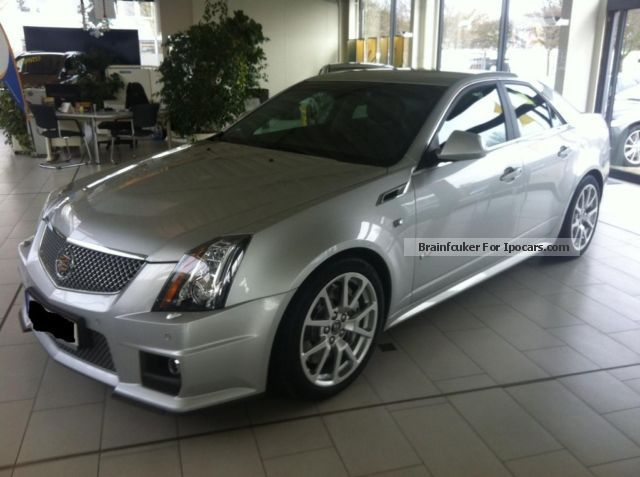 2012 Cadillac Cts V Automatic Car Photo And Specs