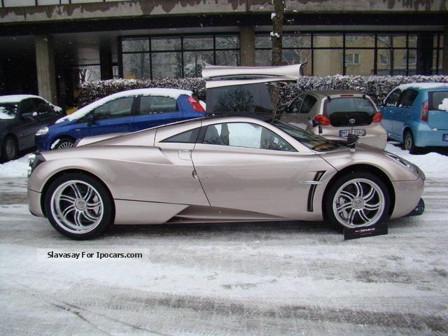 2012 Pagani Huayra Car Photo And Specs