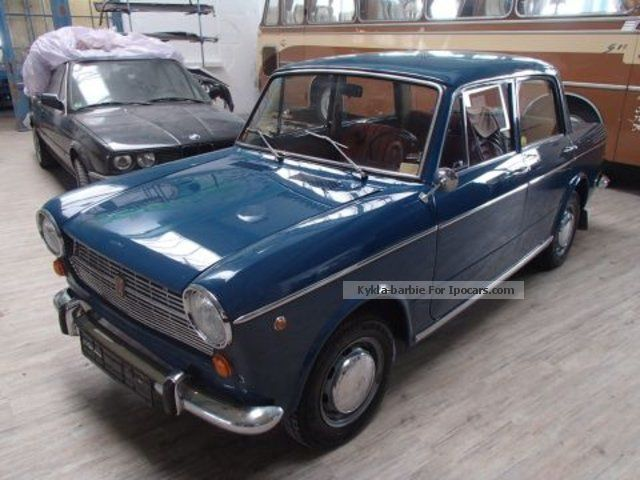 NSU  Restored Fiat 1100 * Complete * HU \u0026 H labeling 1966 Vintage, Classic and Old Cars photo