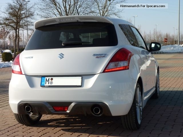 2013 Suzuki Swift 1 6 Sport Car Photo And Specs
