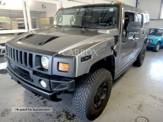 Hummer  HUMMER H2 6.2L GAS LUXURY GERMAN-APPROVAL 2008 Liquefied Petroleum Gas Cars (LPG, GPL, propane) photo