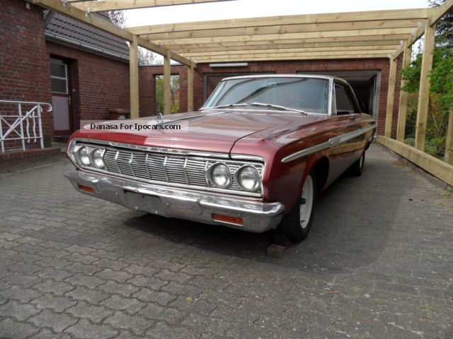 1964 Plymouth  Fury 1964 Sports Car/Coupe Classic Vehicle photo