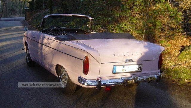 Austin  Hillman Super Minx Convertible 1963 Vintage, Classic and Old Cars photo