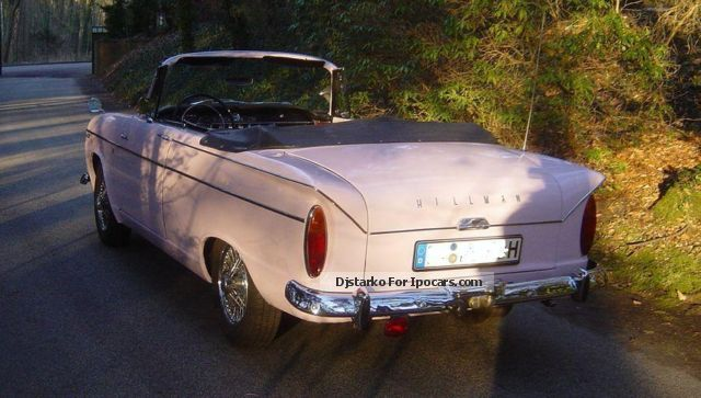 Rover  Hillman Super Minx Convertible 1963 Vintage, Classic and Old Cars photo