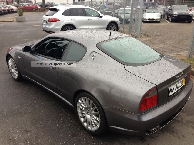 2002 maserati 4200 gt coupe 1 hand 42tkm german service new car photo and specs. Black Bedroom Furniture Sets. Home Design Ideas