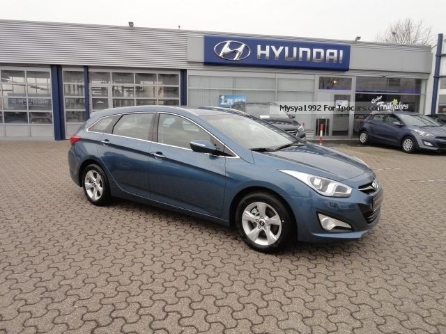 2012 Hyundai  i40CW 1.6 5-Star Silver, TopFin 2.99! - Vision, K Estate Car New vehicle photo