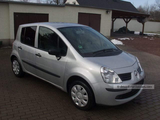 2007 renault modus 1 5 dci only 80 000 km air euro 4 car photo and specs. Black Bedroom Furniture Sets. Home Design Ideas