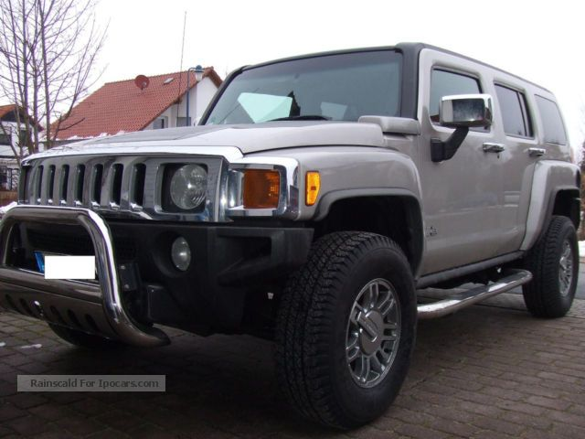 Hummer  H3 Geiger Tuning with chrome package 2006 Tuning Cars photo