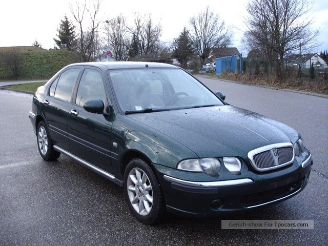 2001 Rover  45 2.0 TD + air + + Euro 3 + + DPF + + + Green sticker Saloon Used vehicle photo