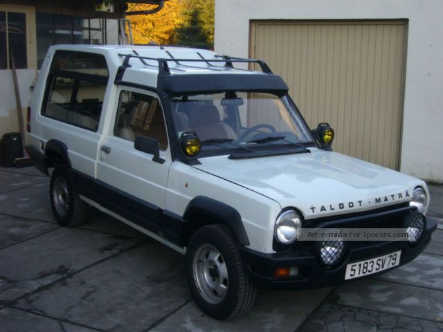 Talbot vehicles with pictures page 2 for Rancho motors used cars