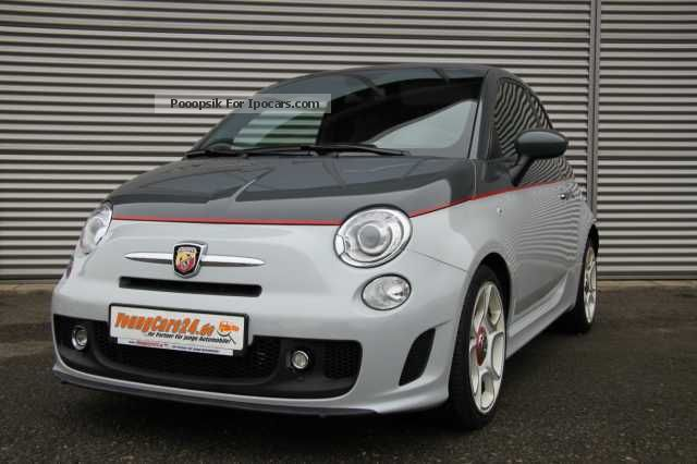 2012 Abarth  500 Convertible Leather Xenon Halbaut. / Wippsch. Cabriolet / Roadster Employee's Car photo