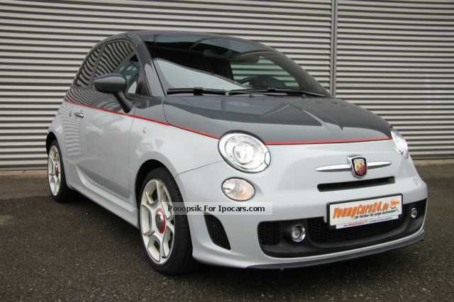 2012 abarth 500 convertible leather xenon halbaut wippsch car photo and specs. Black Bedroom Furniture Sets. Home Design Ideas