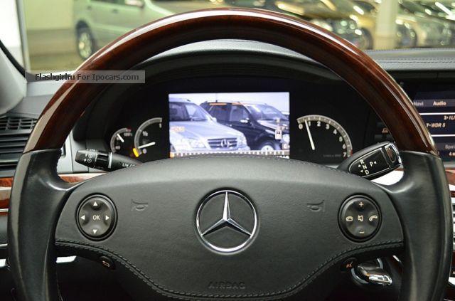 2006 mercedes benz s 500 v8 reversing camera night for Mercedes benz night vision