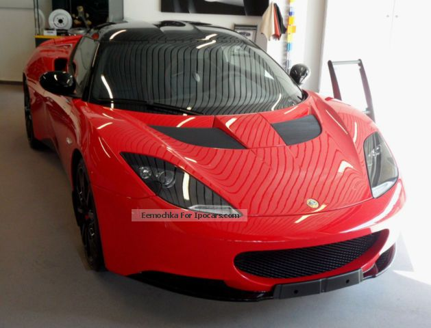 Lotus  Evora S 3.5 V6 2 +2 IPS SPORTS RACER 2012 Race Cars photo