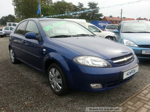 Daewoo  Lacetti 1.6 SX Gas * AHK Air + + + ZV LPG autogas * + + + 2012 Liquefied Petroleum Gas Cars (LPG, GPL, propane) photo