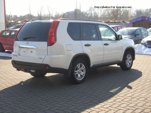 2009 nissan x trail 2 0 dci 4x4 dpf car photo and specs. Black Bedroom Furniture Sets. Home Design Ideas