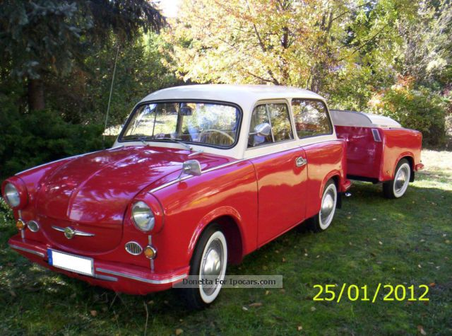 Trabant  600 1962 Vintage, Classic and Old Cars photo