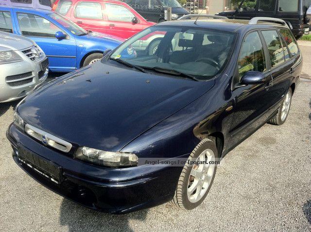 2002 Fiat  Marea Weekend 1.9 JTD 110 SX St. Moritz * 44000KM * Estate Car Used vehicle photo