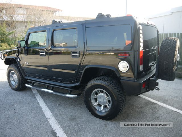 2007 hummer h2 luxury vollausstattung like. Black Bedroom Furniture Sets. Home Design Ideas