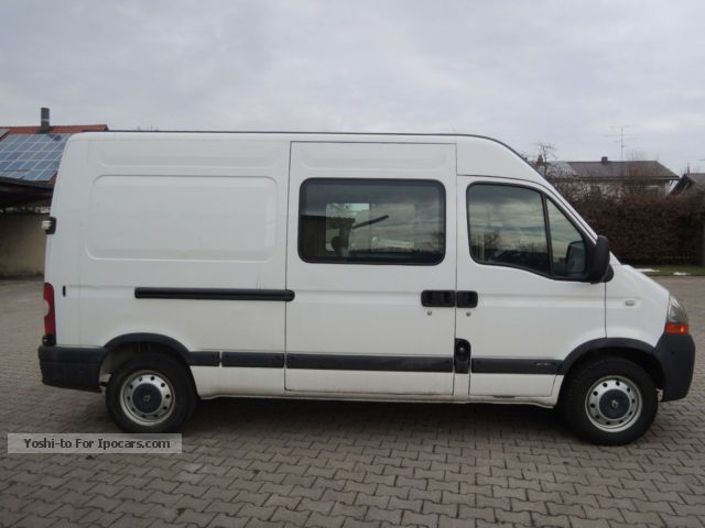 2006 renault master 2 5 dci 120 car photo and specs. Black Bedroom Furniture Sets. Home Design Ideas