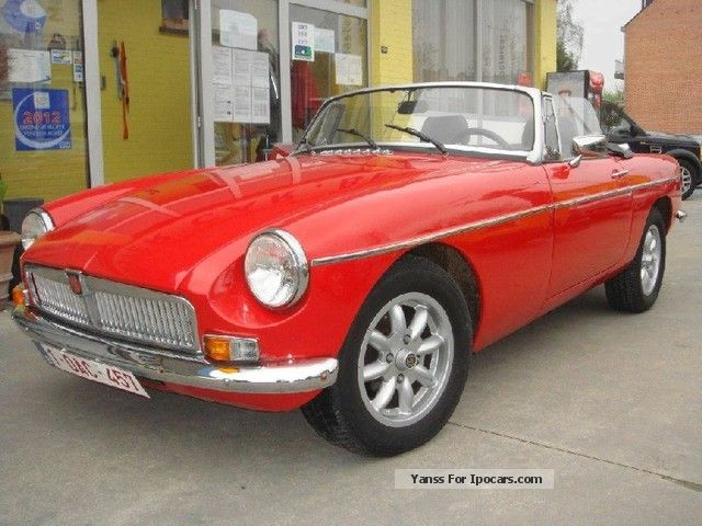 MG  1.8 Convertible 1968 Vintage, Classic and Old Cars photo