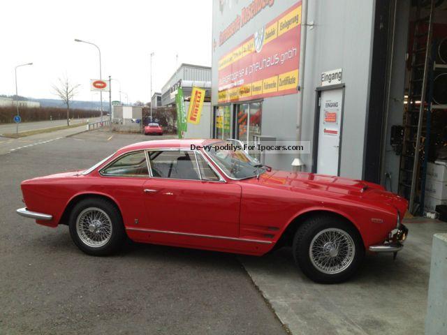 Maserati  3500 GTI Sebring Series I 1963 Vintage, Classic and Old Cars photo